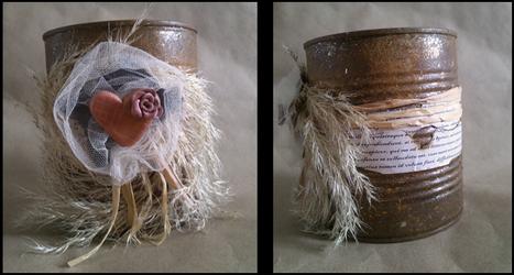 Rusty tin can