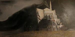 Minas Tirith by luthien3791