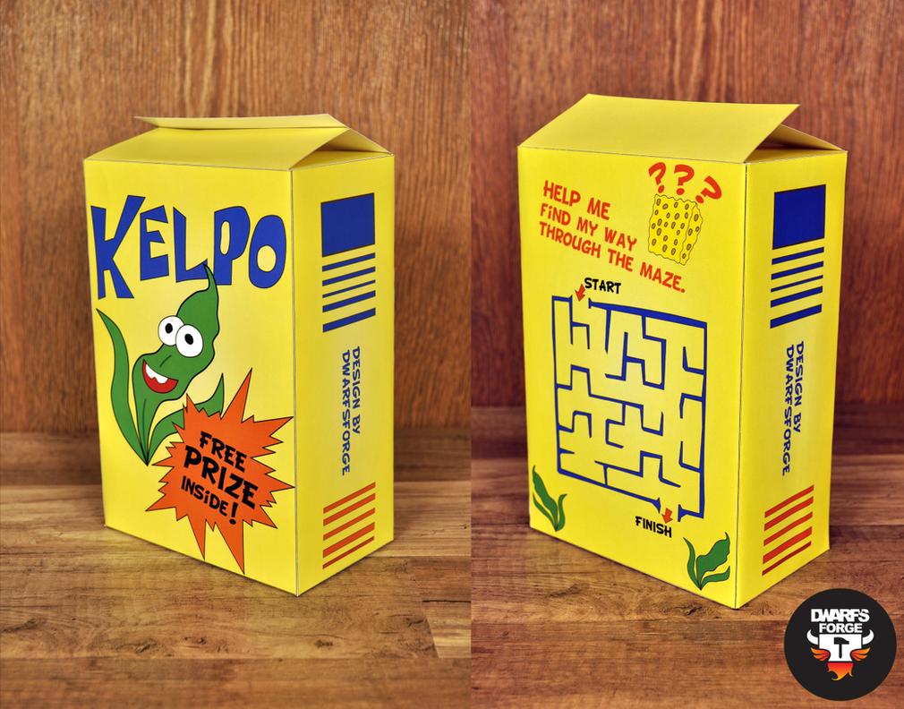 Kelpo Box - Free PDF template download by DwarfsForge