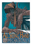 All Seeing Hand Poster