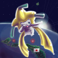 jirachi in japan by Chibi-C