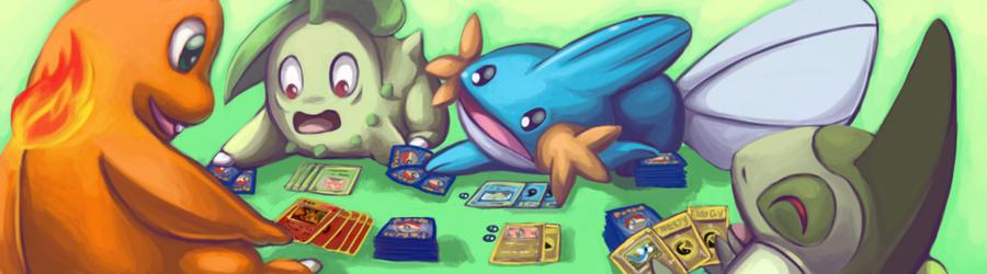 pokemon playing pokemon by Chibi-C