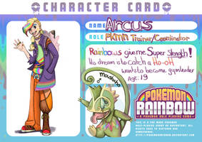 pkmn rainbow app Arcus by Chibi-C