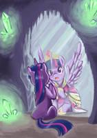 Twillight Sparkle princess by Chibi-C