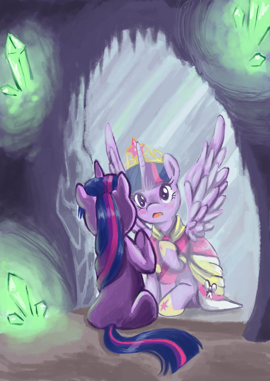 Twillight Sparkle princess by Chibi-C