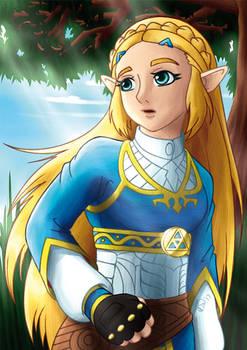 Zelda: Breath of the Wild - Princess Zelda