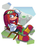 Sonic Legends - Knuckles the Echidna by DarkNoise-Studios