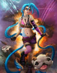 Jinx Fan Art by KonoArt