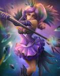 Elementalist Lux (Dark) Fan Art