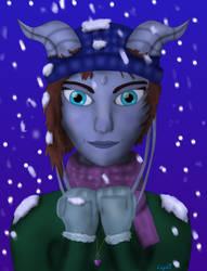Draenei - Winter