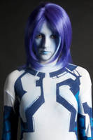 Cortana cosplay again by stacey-shikon-uk