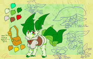 ~Kiwi the Beta Leafeon~ (Contest Entry) by LittleMoon-Chan