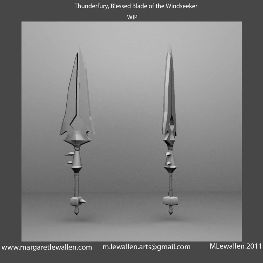 Thunderfury, Blessed Blade of the Windseeker, WIP