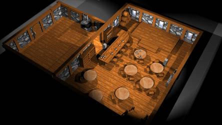 Tavern Diorama