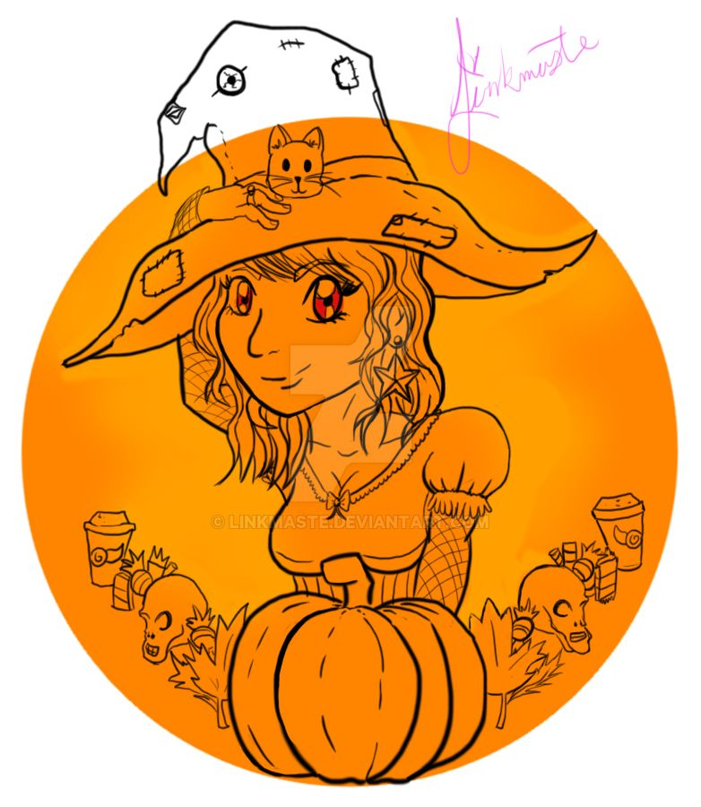 Halloween Witch by Linkmaste