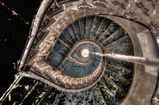 Spiral Staircase Mandelbrot Delirium