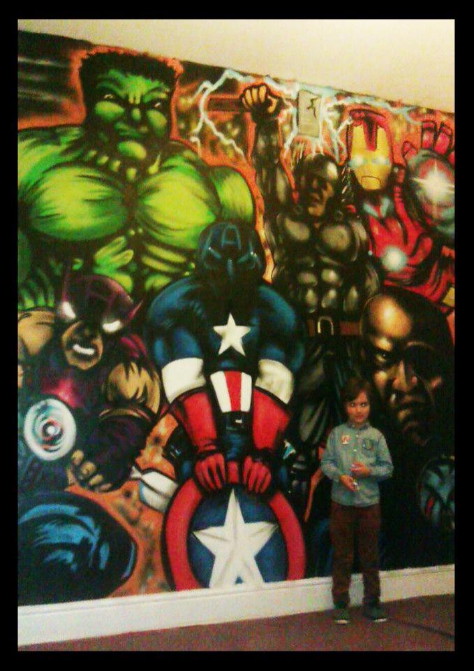 Avengers Wall Art By Posto2012 On Deviantart