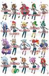 Boku no Hero Academia ADOPTABLES 4! [1/20 OPEN]
