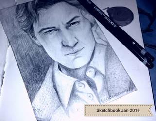 Sketchbook Jan 2019  by GGArtandDrawing