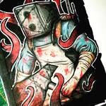 the keeper- sketchbook April 20