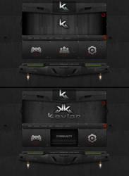 Kevlar HTML by rhadEEE