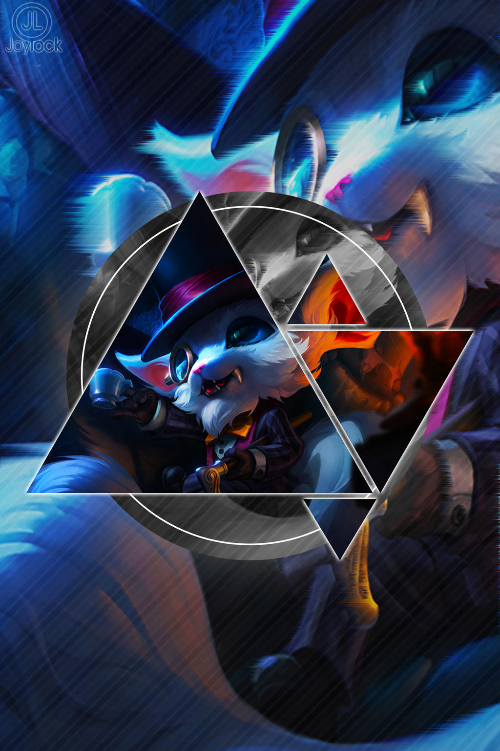 Wallpaper Phone League Of Legends Gnar Celular By Joylockdesigner