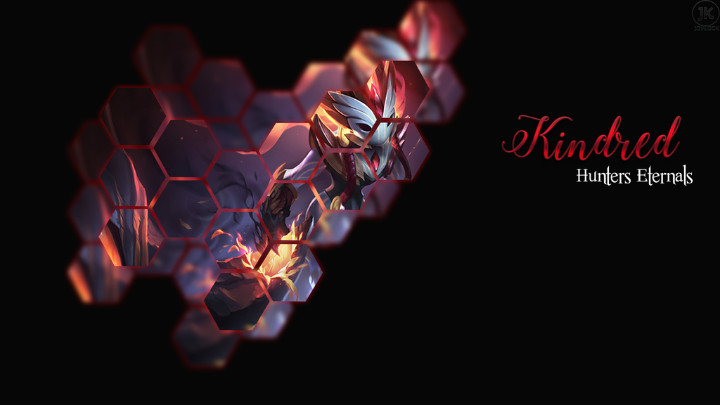 Kindred Minimalist Wallpaper League Of Legends By: Wallpaper League Of Legends Kindred By JoylockDesigner On