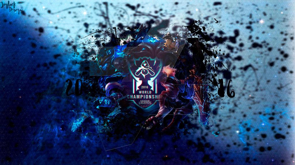 Wallpaper LeagueOfLegends Championship 2016 By JoylockDesigner