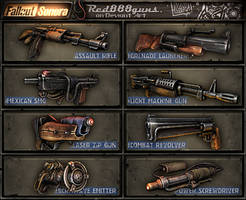 Fallout Sonora weapons by Red888guns