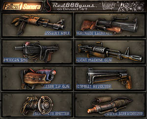 Fallout Sonora weapons