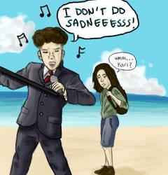 Karl doesn't do sadness by picklelova