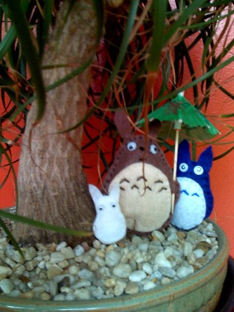 Totoro totoros by picklelova