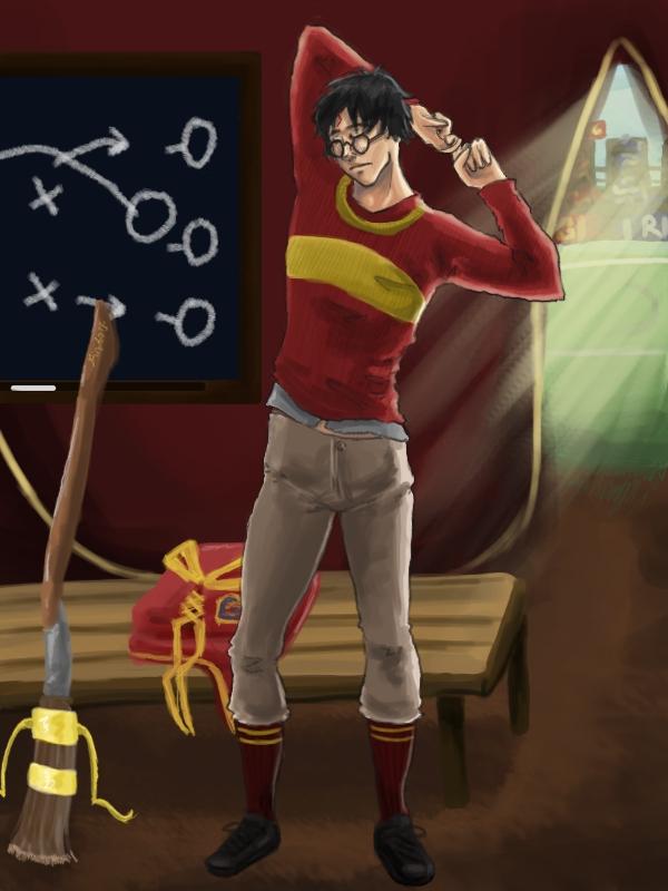 Harry Potter - A Quick Stretch by picklelova