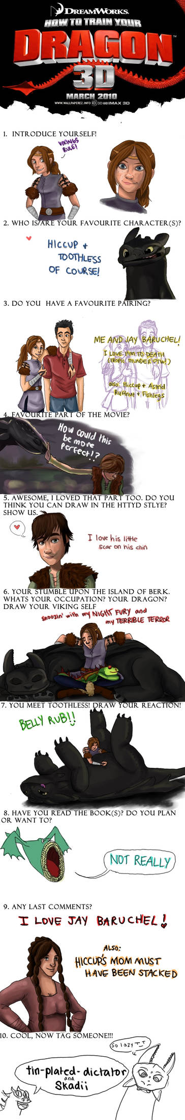 How To Train Your Dragon Meme