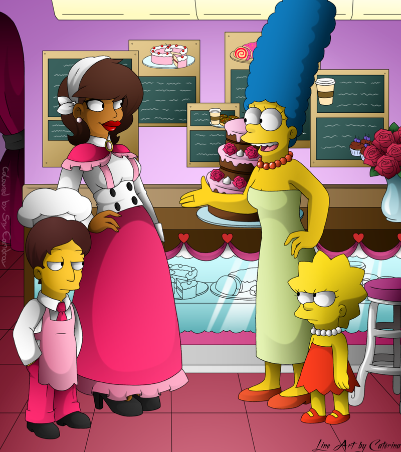 COLLAB: Big Mama's Bakery- Meeting Marge~ by xXLady-MafiaXx