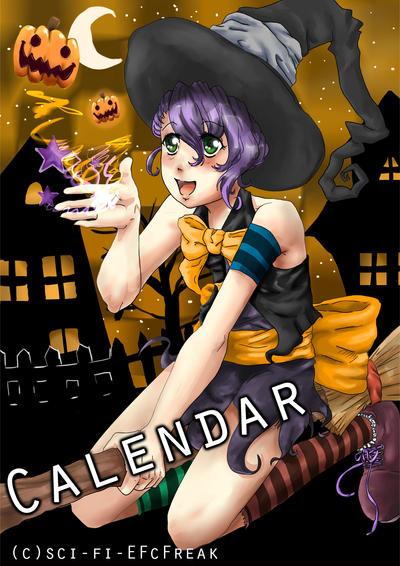 Calendar Art Sci : Witch oktober calendar by badasspantiestalker on deviantart