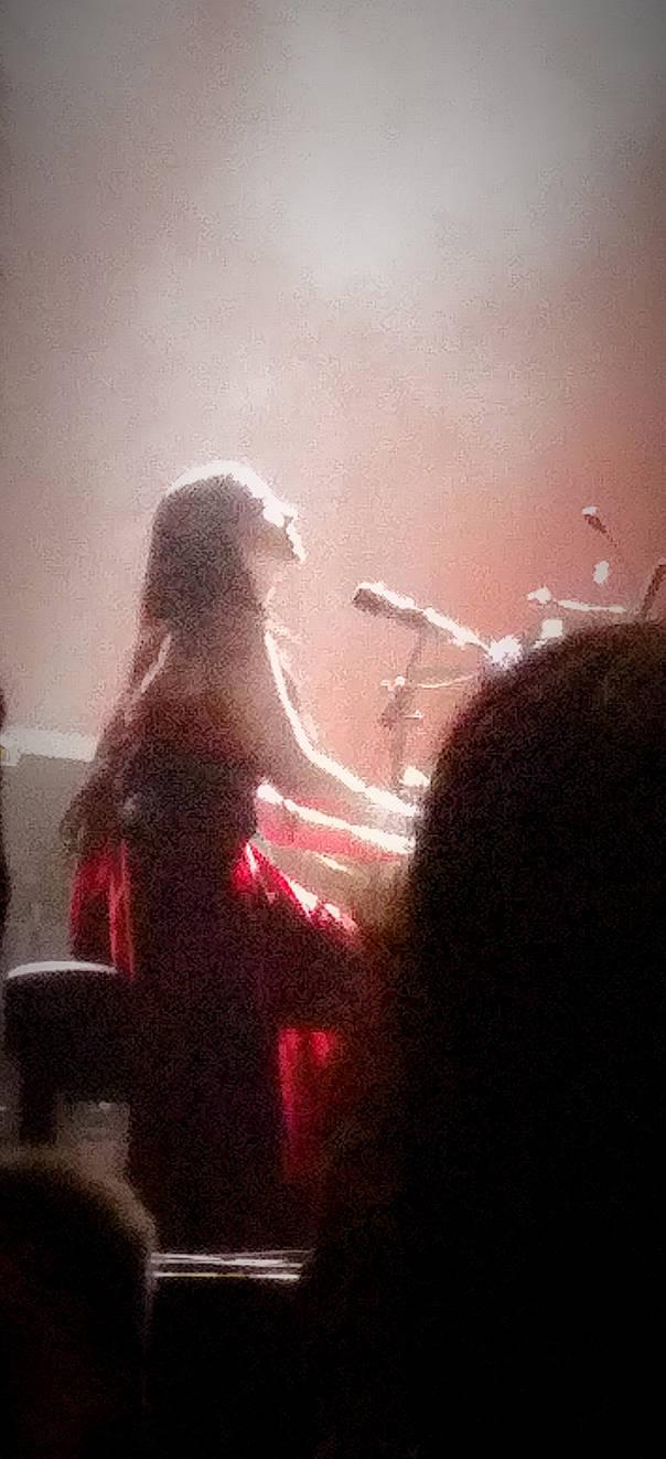 Goddess on Piano
