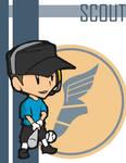 TF2 Chibi Blu Scout
