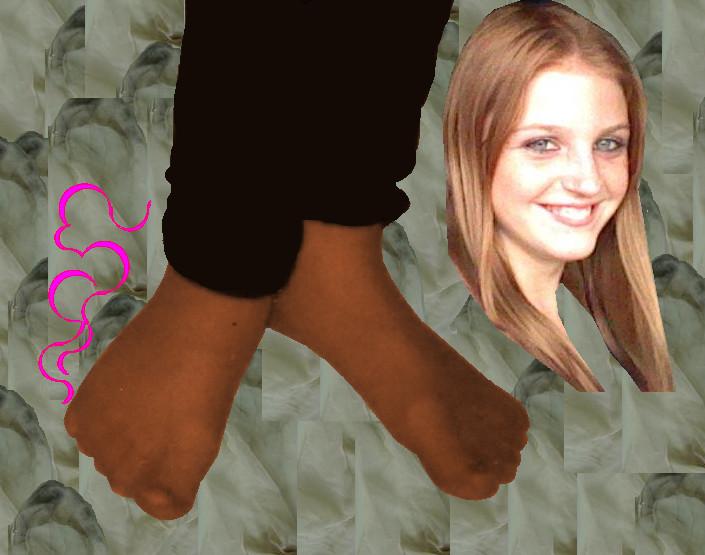 Steamy and stinky ebony feet 1