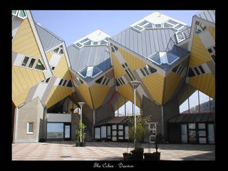 The cube houses