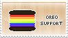 Oreo support stamp