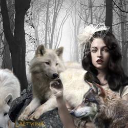 Lady wolf by laeti-k