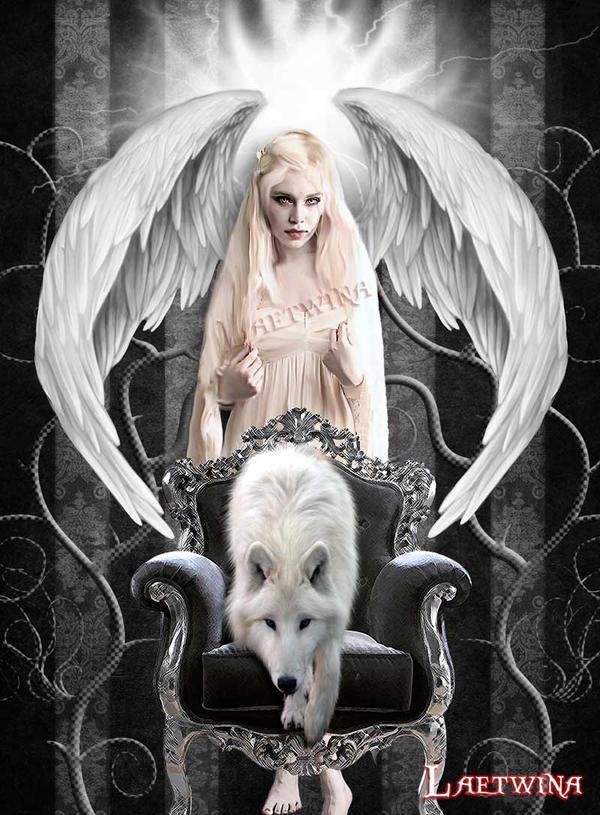 Angel ? by laeti-k