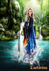 Lady Of The Lake - Arthurian's Legends by laeti-k