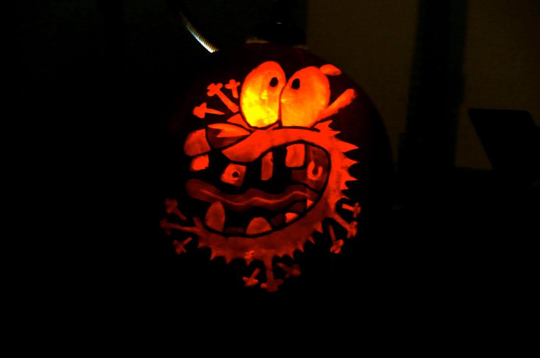 Haciendo corajes en Halloween by MisterCoqui