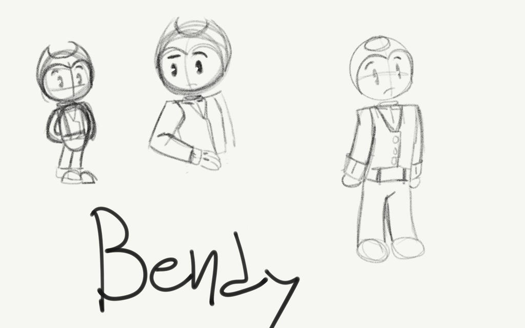 Bendy au design  by TheOptimisticalEmo