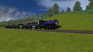 Wilbert pulls the Express Coaches