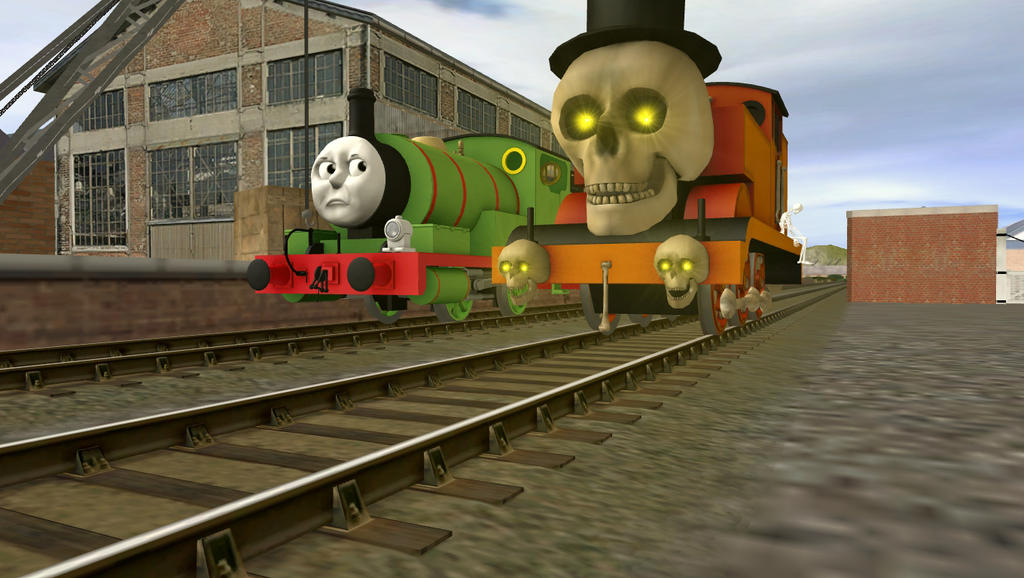 Thomas, it's not halloween anymore. by FlyingScotsman1257