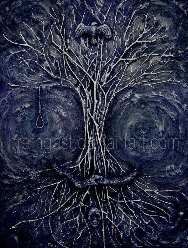 Yggdrasil Art Yggdrasil by Hrefngast...