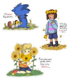 .[FA] Golden Children.+ by ShyBlackSheep